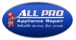 All Pro Appliance Repair servicing most of Bradenton and Sarasota County